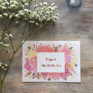 Joyeux Anniversaire Fleuri