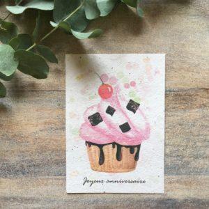 Cupcake gourmand