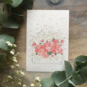 Enveloppe Fleurie