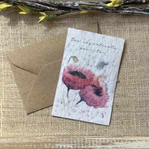 Mini carte Coquelicot – coquelicot bio