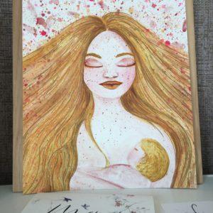Gold mama – peinture originale